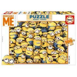 Puzzle de Madera Los Minions