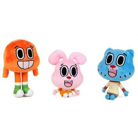 Peluche Gumball Pack 3 unid.