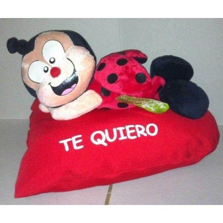 Mariquita con Corazón Te Quiero