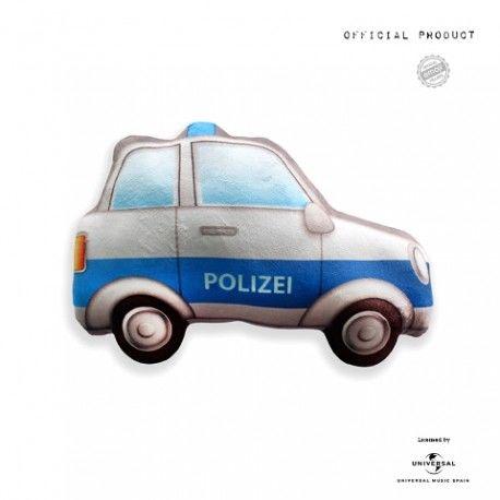 Cojín Emoticono Coche Policía