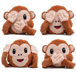 Cojín Emoticono Mono Multiposición