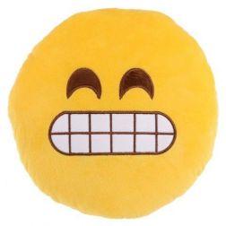 Cojín Emoticono Mueca