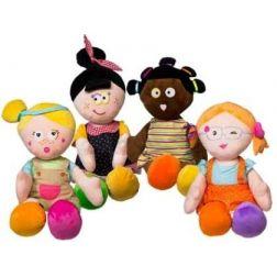 Muñecas de Trapo Multicolor