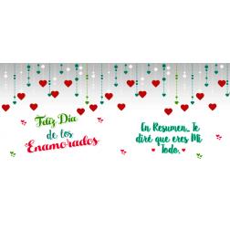Taza Personalizada Corazones