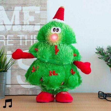 Rbol navidad bailar n s per original peluchilandia for Cuando se pone el arbol de navidad