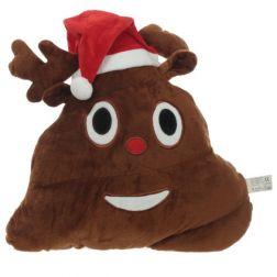 Emoticono Caca Navidad