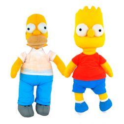 Peluche Bart y Homer