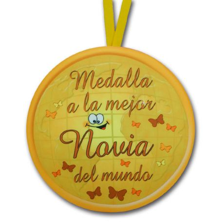 Medalla al mejor novio / novia