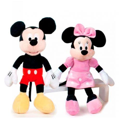 Peluches Minnie y Mickey