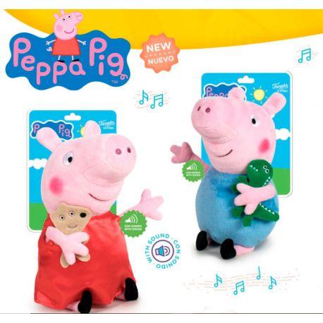 Peluche Peppa Pig con Mascota