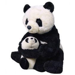 Peluche Oso Panda con Bebé