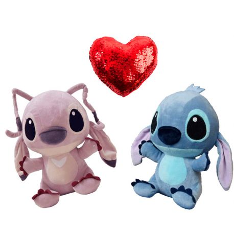 Stitch y Angel baby Love