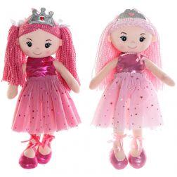 Muñeca de trapo Princesa Rosa 40cm.