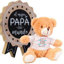 Osito con Premio al mejor Papá