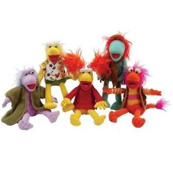 Peluches Fraggle Rock 24 cm.