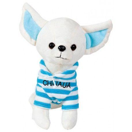 Chihuahua con suéter 20 cm.