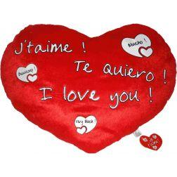 Corazón Peluche Gigante 45 cm.